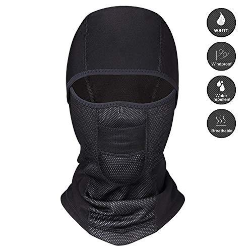 Biqing Balaclava Moto Pasamontañas Máscara Facial Prueba de Viento Máscara Capucha para Invierño Ciclismo Esquí Moto Hombre Mujeres.