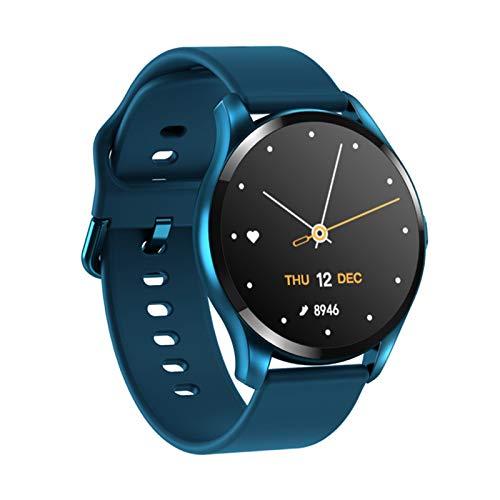 HDSJJD Smartwatch, Hochauflösende Farbbildschirm, Temperatur- Und Gesundheitsüberwachung, Bluetooth wasserdichte Uhr Mit Mehreren Sportfunktionen, Kompatibel Mit Android Und Ios,B