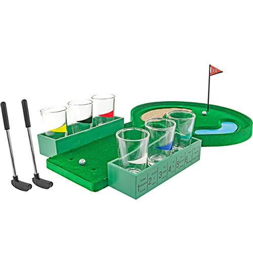 FON-10179 Table Golf Shot Glass Drinking Game