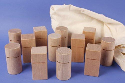 Tischlerschuppen - Webshop für Holzbausteine der besonderen ART 12 Systemische Aufstellungsfiguren / Bausteine