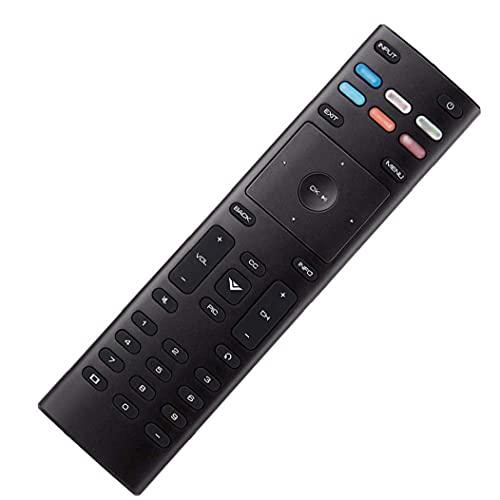 FeelMeet Control Remoto Universal de reemplazo de Control Remoto XRT136 de Control con configuraciones Simples Impermeables compatibles con VIZIO Smart TV