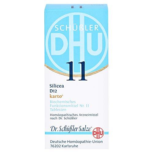 DHU Schüßler-Salz Nr. 11 Silicea D12 Tabletten karto, 200 St. Tabletten