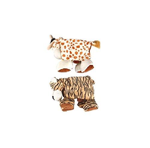 Karlie Plüschtier Safari Animals faltbar ( 38cm X 30cm X 10 cm)