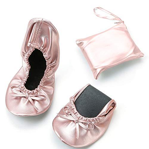 JOINFREE Zapatillas Medias de Ballet Baile de Zapatos de Gimnasia Rítmica 39...