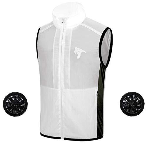 Gyratedream Zomer Koelventilator Vest Zonweringsvest Smart Air Conditioner Outdoor Sportjas
