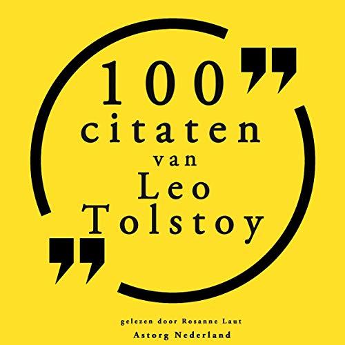 100 citaten van Leo Tolstoy cover art
