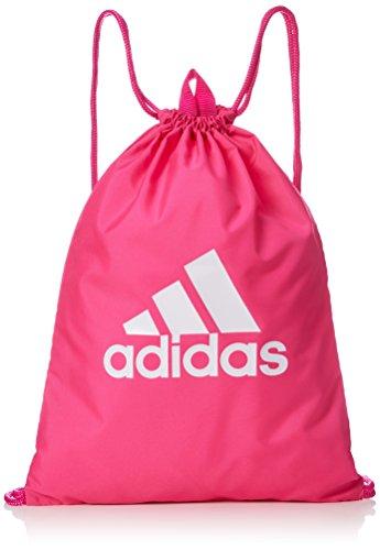 Adidas per Logo GB Bolsa de Cuerdas para el Gimnasio, 25 cm, Rossho/Rossho/Blanco