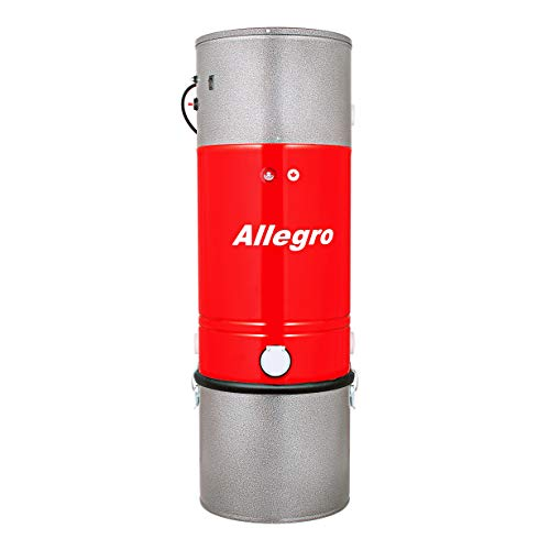 Allegro Zenith 15,000 Square Foot Home Central Vacuum All Steel Power Unit