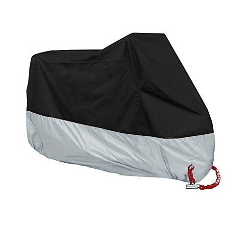 Abilieauty, funda impermeable para motocicleta, resistente al agua, al polvo, protección UV, para motocicleta, bicicleta eléctrica, scooter, M-4XL, Medium