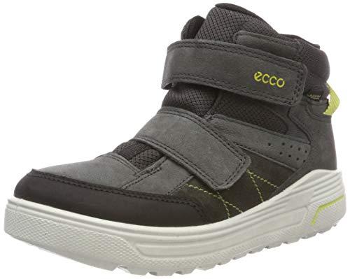 ECCO Unisex-Kinder URBAN Snowboarder Klassische Stiefel, Grau (Black/Dark Shadow 56340), 30 EU