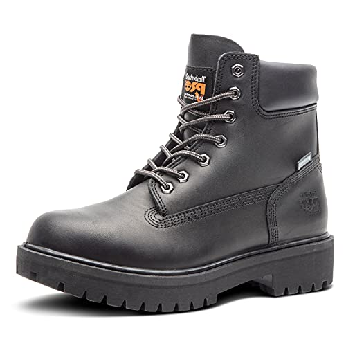 "Timberland PRO Men's 26038 Direct Attach 6"" Steel Toe Boot,Black,11 M"