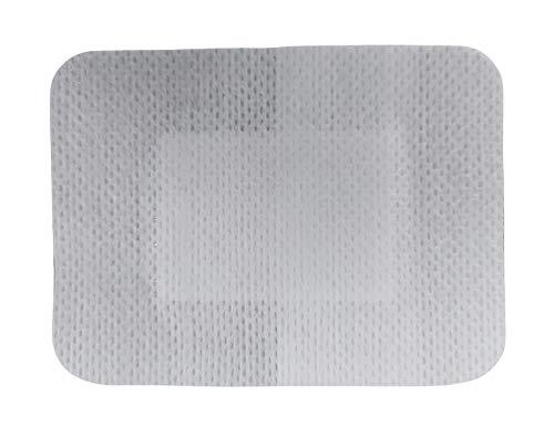 PintoMed - Adhesive Wundverband, Sterile Pflaster aus TNT mit Saugkissen - 8cm x 6cm - 25 Stück - Ultraempfindlich, Saugfähig, Vlieskleber, Atmungsaktiv, Postoperativ