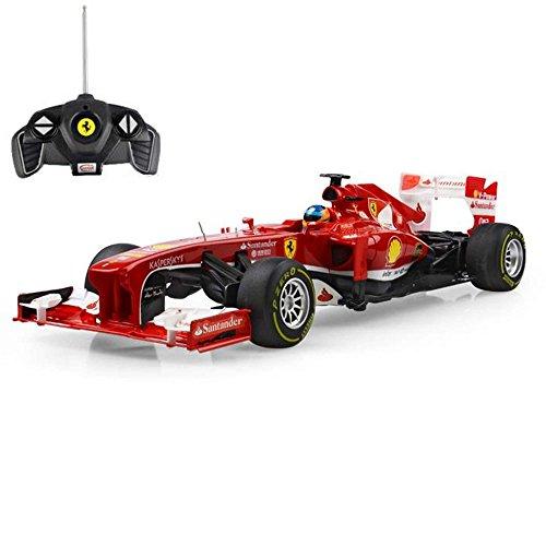 FERRARI F138 - original RC ferngesteuertes Lizenz-Fahrzeug F1 Formel 1 Formula One im Original-Design, Modell-Maßstab 1:18, RTR inkl. Fernsteuerung*