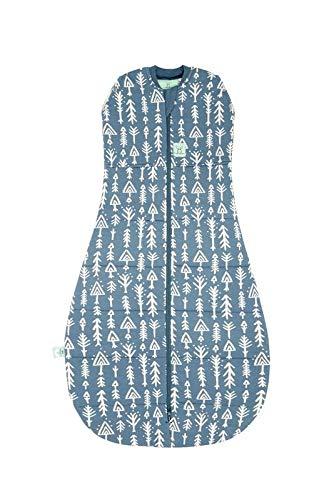 Ergopouch Ergococoon Ergopouch Layers Onesie Schlafanzug aus Bio Baumwolle Midnight arrows 2.5 Baby Schlafsack