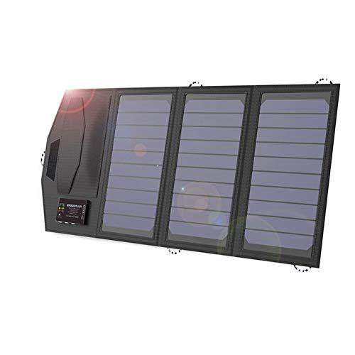 LIERSI 10000 MAH Power Bank Células Solares Cargador De Batería 5V 15W Viajes Al Aire Libre Plegable Panel Solar para iPhone Huawei Xiaomi