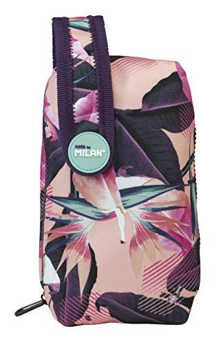 Milan Kit Un Estuche con Contenido Tropical Estuches, 19 cm, Rosa