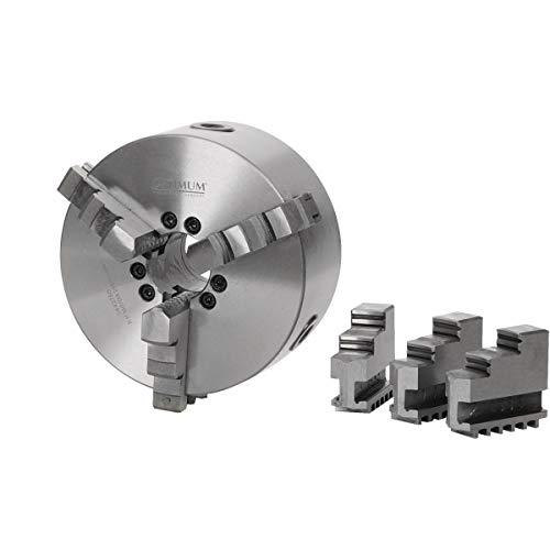 OPTIMUM 3442764 Optimum Plato de 3 Garras Camlock, 200mm Diámetro, No. 5