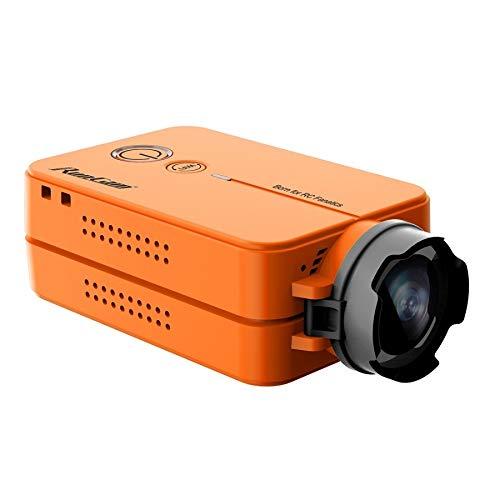 Wchaoen RunCam 2 RunCam2 HD 1080P 120 Grad Weitwinkel-WiFi FPV-Kamera for RC Drone Werkzeugzubehör (Color : Orange)