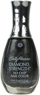 Sally Hansen Diamond Strength Nail Color, No Chip, Black Diamonds