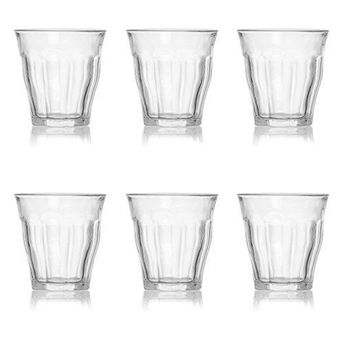 Picardie Ritzenhoff & Breker/Duralex Wasserglas, 6er Set, Cocktailglas, Glas, max. 250 ml, 162516