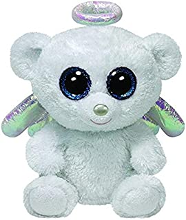 APTRIE Ty Beanie Boos Animals Angel Bear Plush Toy 15Cm Child Boy Must Haves 8 Year Old Girl Gifts The Favourite Anime 5T Superhero Girls LOL Unboxed
