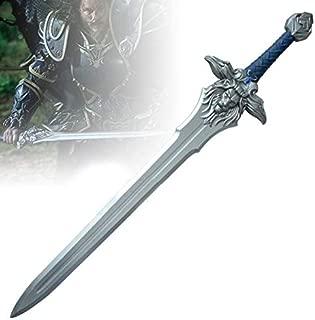 RealFireNSteel Warcraft - Anduin Lothar's Great Royal Sword (LARP Friendly)