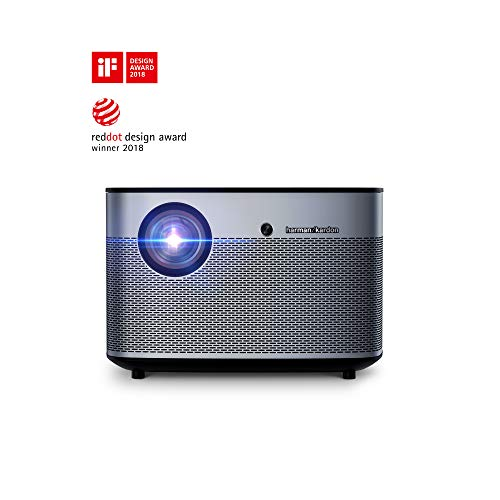 XGIMI H2 Intelligenter Beamer True 1080P 4K Unterstützt 1350ANSI lm Built -in Harman /Kardon Speakers, Autofokus, Android 6.1 Videoprojektor, Enjoy YouTube 4K on 300 Inch Display