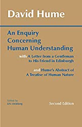An Enquiry Concerning Human Understanding by David Hume Book Cover