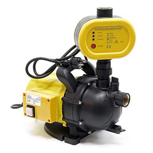 Gartenpumpe Hauswasserwerk tragbare Wasserpumpe Schalter 1200 W 3500 L/h