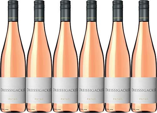 6x Dreissigacker Pinot & Co Rosé 2019 - Weingut Dreissigacker, Rheinhessen - Rosé