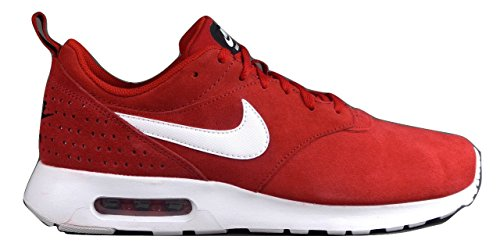 Nike Air Max Tavas LTR Mens Trainers 802611 Sneakers Shoes (9 M US, Gym Red / White-Black)