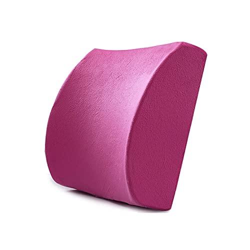 Almohada para la Espalda Almohada Lumbar del Coche Cojín Lumbar ergonómico Almohada de Apoyo de Espuma viscoelástica Almohada para el Dolor de Espalda Lord Support Cojín de Asiento cómodo