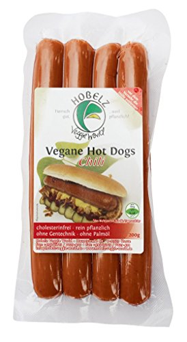 "Hobelz Vegan Hot Dogs ""Chili"" - 200g"