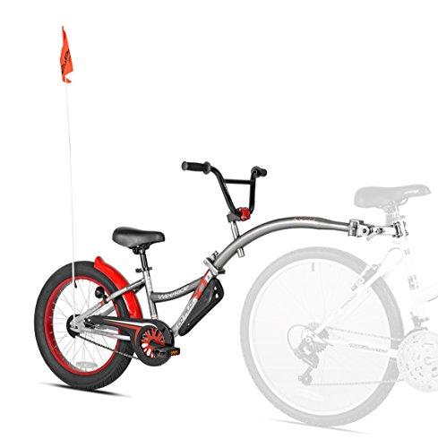 WeeRide Graphit Co Pilot Custom Xt - Befestigtes Fahrrad [anhänger, Anker, HOL], Grau, 51 cm