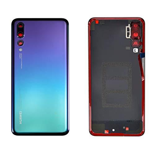 Handyteile24 ✅ Akkudeckel Backcover Rückseite Batterieabdeckung Deckel Cover Twilight (Blau Lila) für Huawei P20 Pro