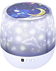 Star Night Light for Kids Universe Projection Lamp with 5 Films for Birthday Festival Gifts