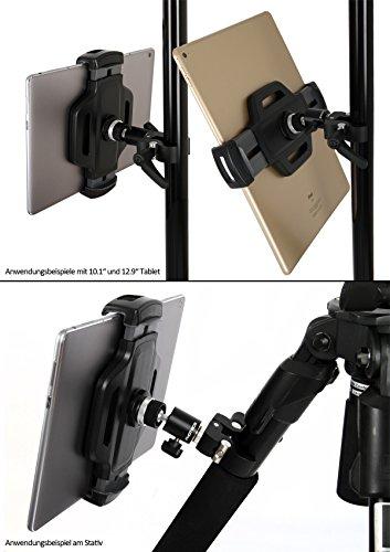 Photecs® Universal Tablet-Halterung Pro V3, Befestigung & Halter f. iPad Pro 12.9