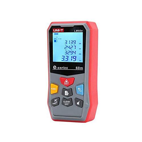 Fotingstarcase Nivel de Aire, medidores de luz 45/60 telémetro, Electrónica Regla, medición de ángulos, for Aplicaciones en Exterior Proyectos de construcción Interior y (Tamaño: 45m)