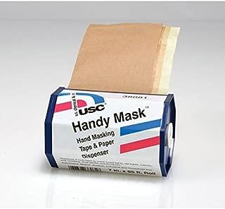 U.S. Chemical & Plastics Handy Mask Hand Masking Tape & Paper 15 Refills
