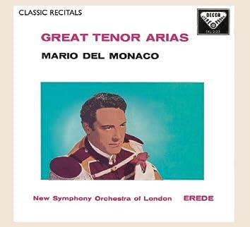 Mario del Monaco: Great Tenor Arias