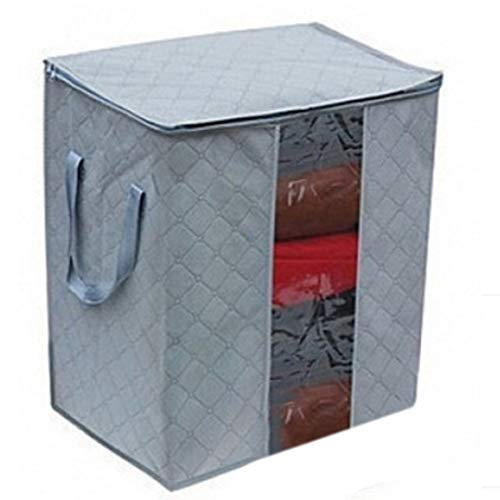 WAVENI sac de rangement de vêtements sac de rangement de vêtements de charbon de bambou sac de rangement de stockage