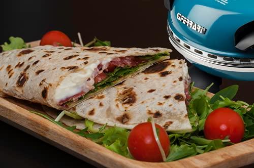 G3 Ferrari G1000604 Delizia Blue Forno Pizza Elettrico EVO, Blu
