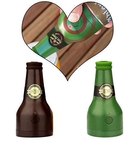 AMhomely® 2019 Bier Blase Werkzeug 2 Stück - Neu!Beer Foam Maker Batteriebetriebener Bieraufschäumer Outdoor Zubehör Flaschenöffner Haushaltszubehör (2PC)