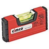 Cimco - Nivel para electricista 100x20x50mm