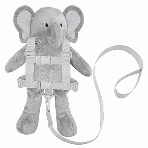 Travel Bug Toddler Character 2-in-1 Safety Harness - Elephant