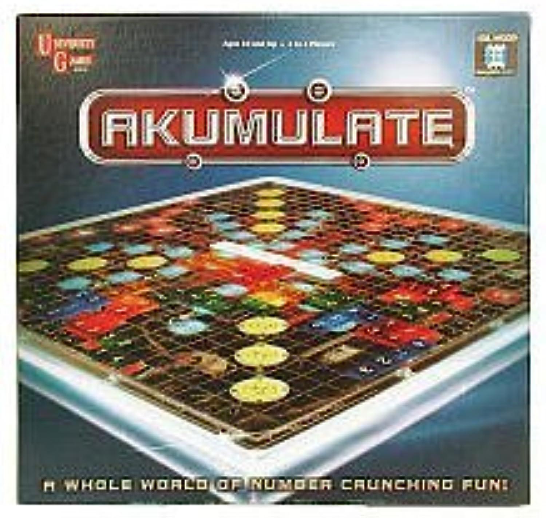 Akumulate Board Game by University Games