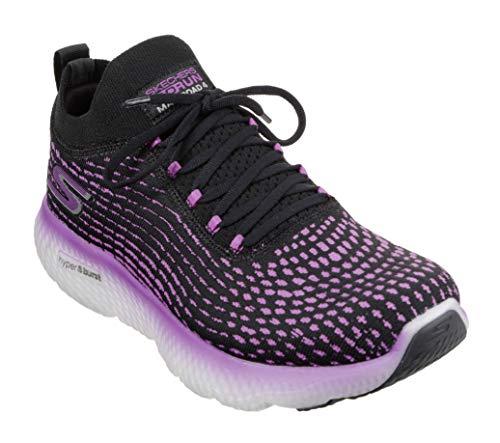 Skechers Max Road 4 Black/Purple 9