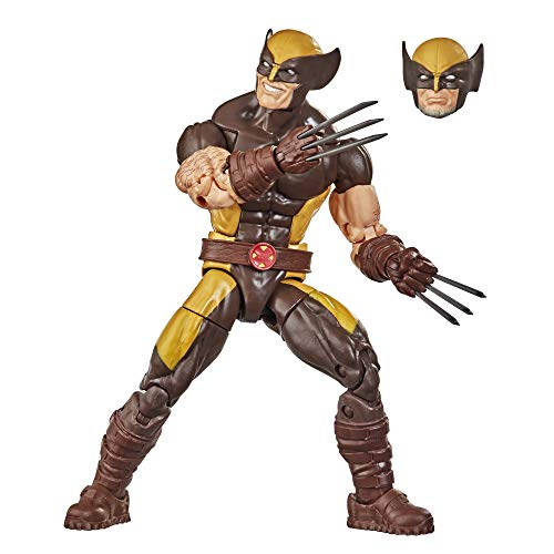 Hasbro Marvel Legends Series X-Men 6-inch Collectible Wolverine Action Figure Toy, Premium Detail and Accessory, Ages 4 and Up