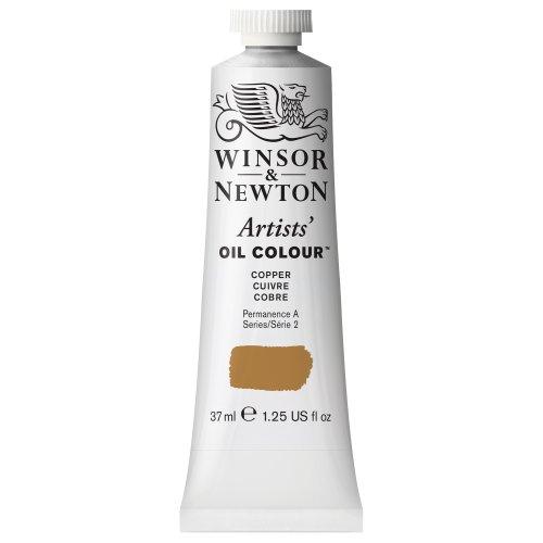 Winsor & Newton Artists' Oil Color Paint, 37-ml Tube, Copper