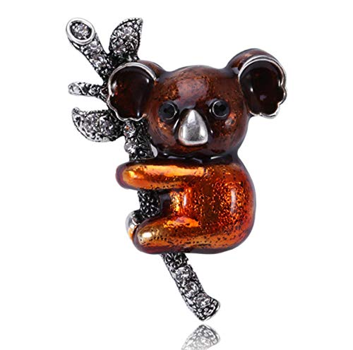 N\A brooches pin women Koala animals Enamel glaze craft Jewellery brooch pins Gift